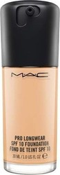 M.A.C Pro Longwear SPF 10 Foundation NC15 30ml