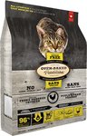 Oven-Baked Tradition Grain Free Adult Cat Chicken 1.59kg