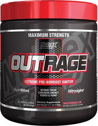 Nutrex OutRage 144gr Fruit Punch