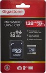 Gigastone Professional microSDXC 128GB U1 with Adapter
