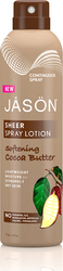Jason Sheer Spray Lotion Softening Cocoa Butter 177ml