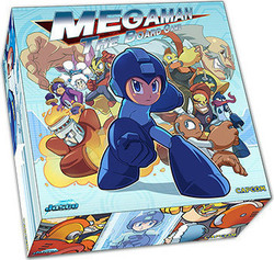 Jasco Games Megaman: The Board Gam