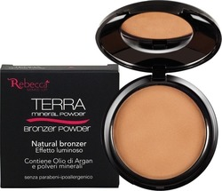 Rebecca Mineral Bronzer Powder No 03 Cocoa Matt 10gr