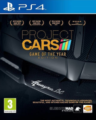 Project Cars (Game of the Year) PS4