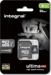 Integral Ultima Pro microSDHC 8GB U1 with Adapter