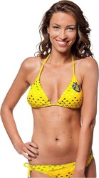 HORSEFEATHERS SUNRISE S15 TRIANGLE-TIE SIDE BRIEF YELLOW