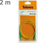 Televes Optical Audio Cable TOS male - TOS male 2m (433301)