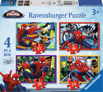 Ultimate Spider-Man 4 in a Box 12, 16, 20 & 24pcs (07363) Ravensburger