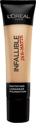 L'Oreal Infallible Matte 24h Foundation 24 Golden Beige 35ml