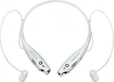 Vakoss X-H813 In-ear Bluetooth Handsfree Λευκό