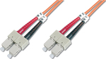 Digitus Optical Fiber SC-SC Cable 10m Πορτοκαλί (DK-2622-10)