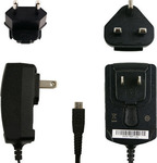 Blackberry micro USB Wall Charger Μαύρο (ASY-18080-001) (Bulk)