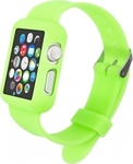 KW Silicone Watch Strap Case Green (Apple Watch 38mm)