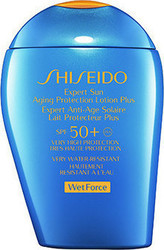 Shiseido Wet Force Expert Expert Sun Aging Protection Lotion for Face & Body 50+ 100ml