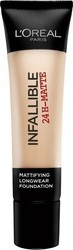 L'Oreal Infallible 24H-Matte Foundation 11 Vanilla 35ml
