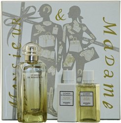 Hermes Le Jardin de Monsieur Li Eau de Toilette 100ml & Body Lotion 40ml & Shower Gel 40ml