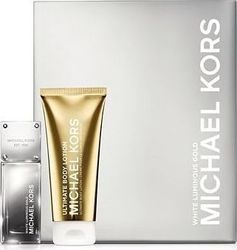 Michael Kors White Luminous Gold Eau de Parfum 50ml & Body Lotion 100ml