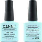 Canni Nail Art Color Coat 004 Cyan Light