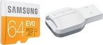 Samsung Evo microSDXC 64GB U1 with USB Reader