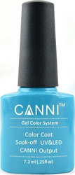 Canni Nail Art Color Coat 036 Turquoise Blue