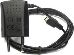 ZTE micro USB Wall Charger Μαύρο (A22050I700M5-1)