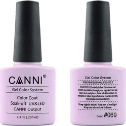 Canni Nail Art Color Coat 069 Soft Lilac