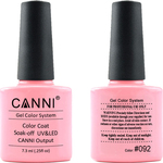 Canni Nail Art Color Coat 092 Bright Light Pink
