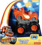 Fisher Price Blaze: Οχήματα Slam & Go