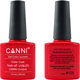 Canni Nail Art Color Coat 105 Bright Red