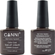 Canni Nail Art Color Coat 127 Dark Brown