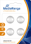 MediaRange Lithium Coin Cell CR2032 (4τμχ)
