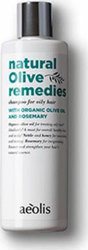 Aeolis Shampoo for Oily Hair With Organic Olive Oil & Rosemary 300ml