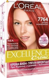 L'Oreal Excellence Cream No 7764 Έντονο Χαλκοκόκκινο