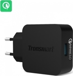 Tronsmart USB Wall Adapter Μαύρο (WC1T)