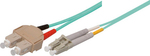 Good Connections Optical Fiber SC-LC Cable 2m Τιρκουάζ (LW-802LS3)