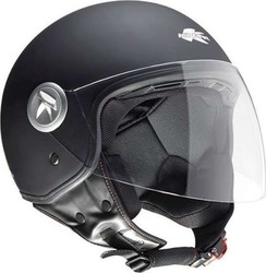 Kappa Moto KV20 Rio Black Matt Long Visor