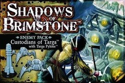 Flying Frog Shadows of Brimstone: Custodians of Targa with Targa Pylons Enemy Pack Expansion