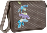 Laessig Messenger Bag Flowerpatch Slate