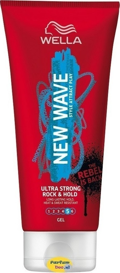 Wella New Wave Hair Gel Ultra Strong Power Hold 200ml