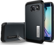 Spigen Tough Armor Metal Slate (Galaxy S6 Edge)