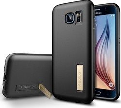 Spigen Capsule Solid Black (Galaxy S6)