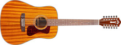 Guild D-1212E Dreadnought Westerly Natural
