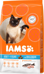 Iams Adult Ocean Fish & Chicken 10kg
