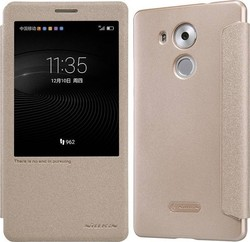 Nillkin Book S-View Sparkle Leather Gold (Huawei Ascend Mate 8)
