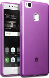 Terrapin SIlicone Back Cover Transparent - Purple (Huawei P9 Lite)