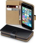 Terrapin Flip Wallet Black - Brown (iPhone 5/5s/SE)