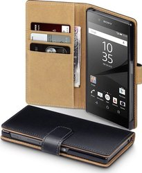 Terrapin Leather Wallet για Sony Xperia Z5 Black/Tan