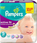 Pampers Premium Protection Active Fit No 5 (11-23Kg) 38τμχ