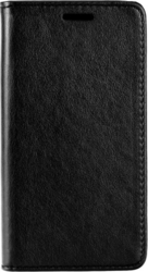 iSelf Leather Stand Book Sony Z5 Black Magnetic Closure