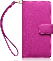 iSelf Book Leather Samsung S7 Edge Pink Design 1